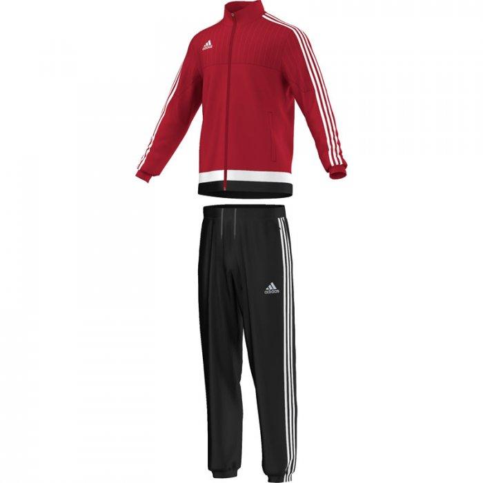 Adidas Tiro 15 Präsentationsanzug in rot und anderen Farben