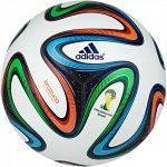 Adidas Brazuca OMB Spielball WM 2014white/night blue f13 - Gr. 5