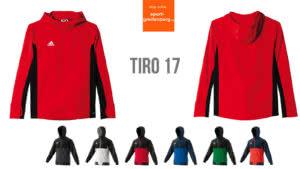 Die Adidas Tiro 17 Teamline für den Teamsport