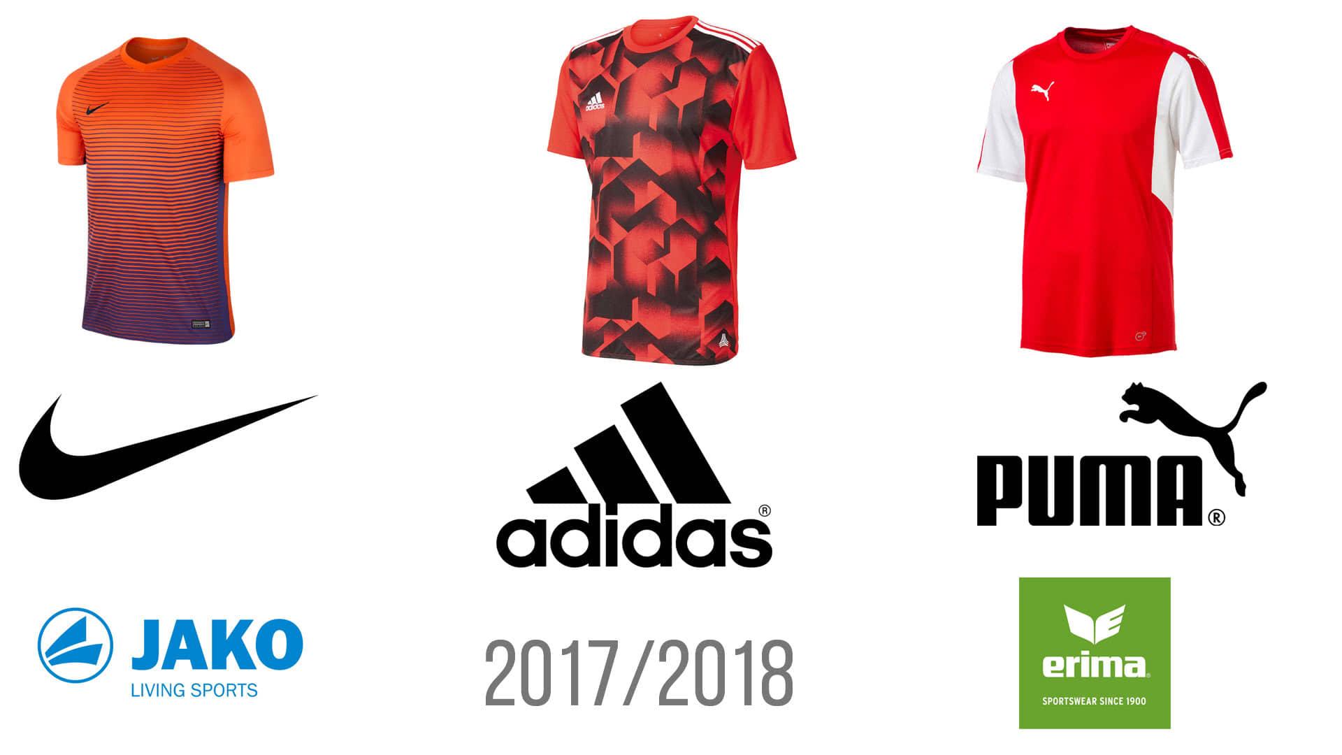 Neue Saison Trikots 2017/2018 von Adidas bis Nike