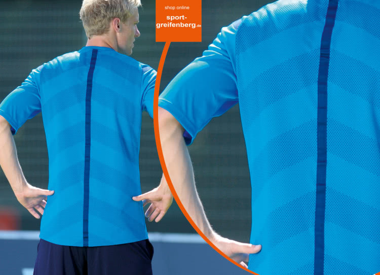 Die Rückseite vom Adidas Referee 14 Trikot für Schiedsrichter
