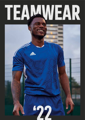 Adidas Teamsport Katalog mit Trikots und Trainingsanzügen als download
