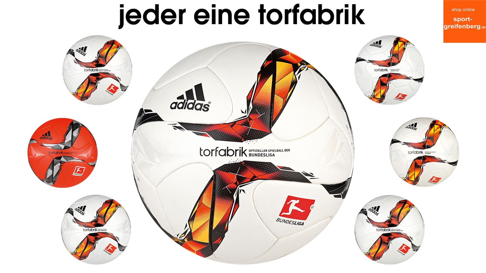 Adidas Torfabrik Fußbälle