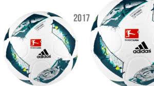 Der Adidas Torfabrik 2017 Ball für die Bundesliga