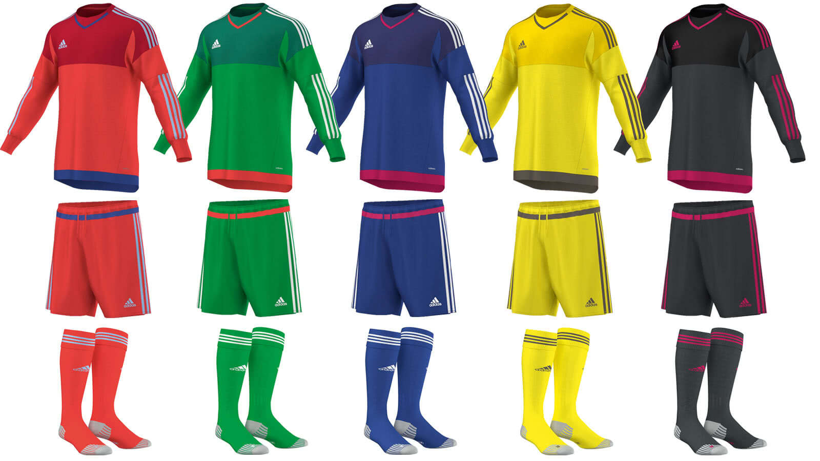 Adidas Torwart Set Top 15 GK