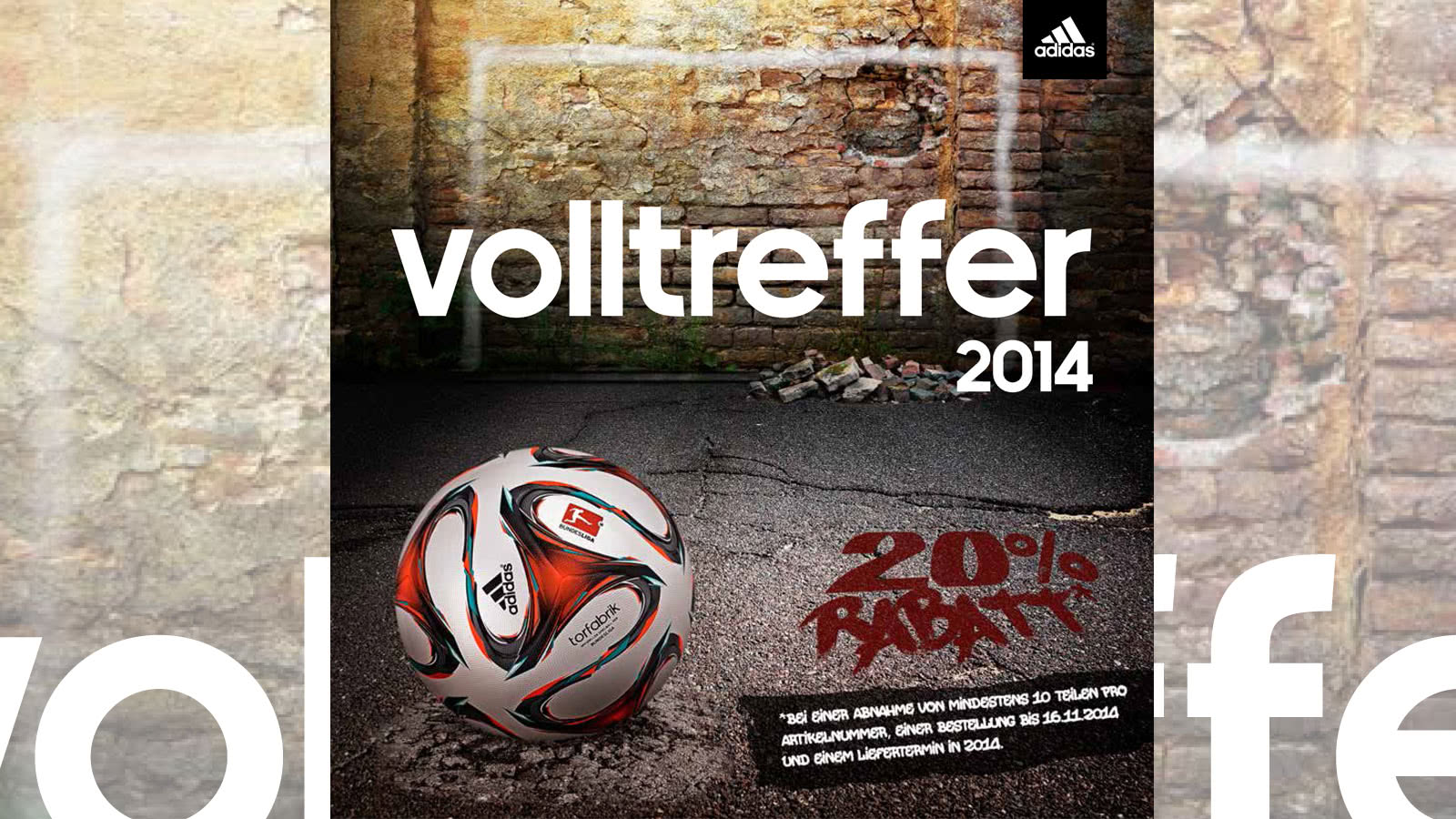 Adidas Volltreffer Flyer 2014/2015