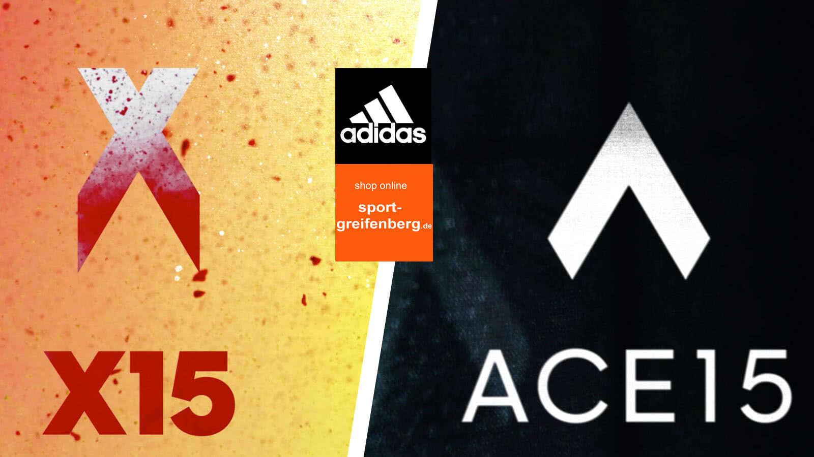 Adidas Ace und Adidas X Schuhe