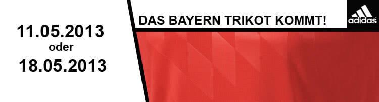 Das adidas fc bayern trikot 2013 2014 kommt