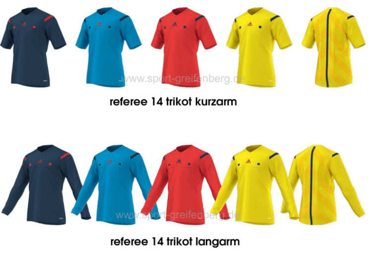Das Adidas Referee 14 Jersey