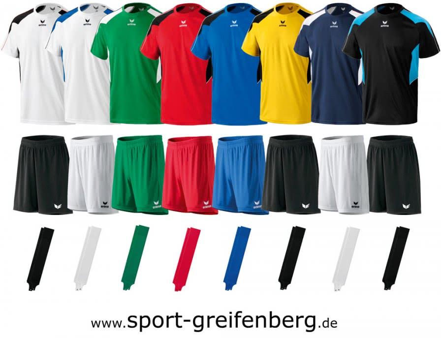 fu ball trikotsatz des erima shooter line trikotpaket sportartikel und fussballschuhe news