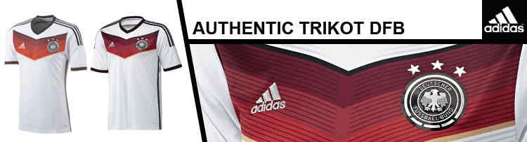 Das Adidas DFB Trikot Replica und das Adidas DFB Trikot Authentic