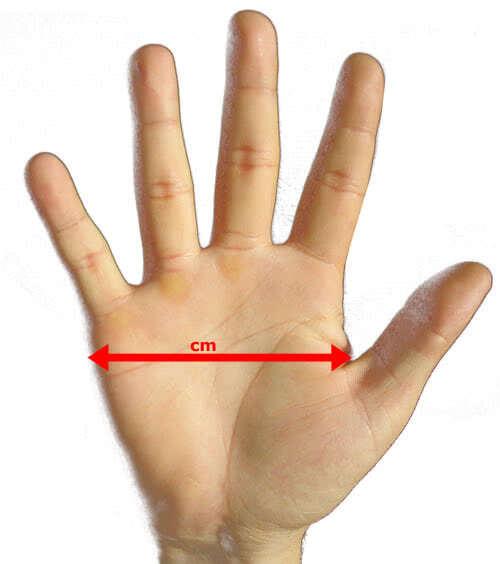 die-hand