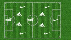Fußballschuhe für die Spielposition (Stürmer, Mittelfeld, Abwehr)