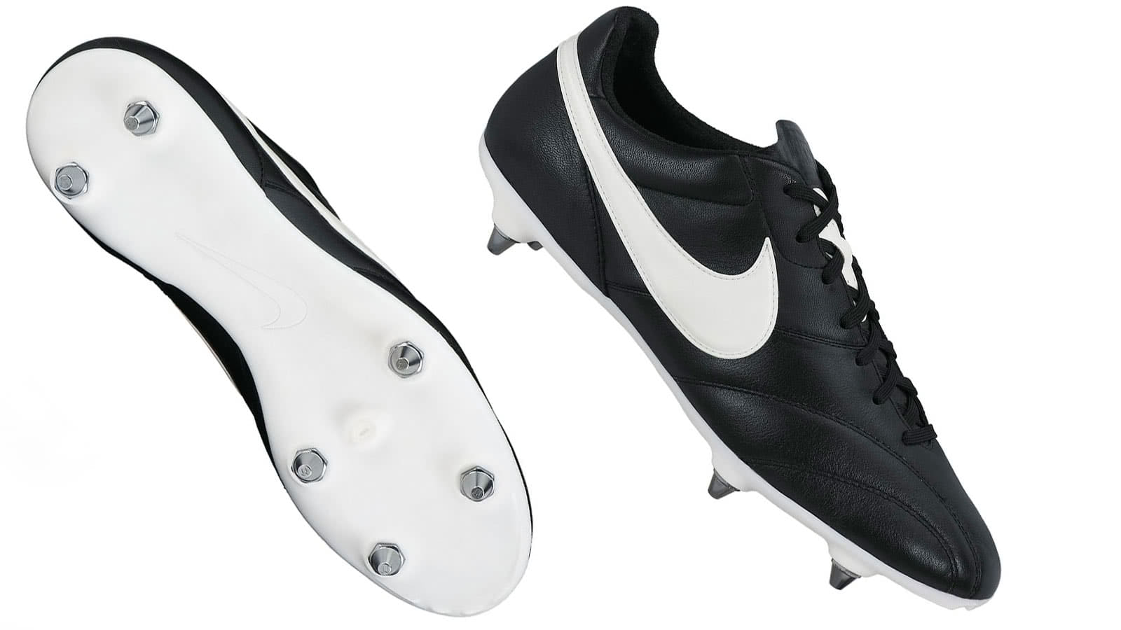 Nike Leder Fu�ballschuhe