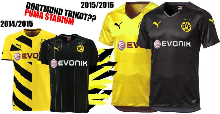 Das BVB Trikot 2015/2016 von Puma könnte das Stadium Trikot sein.