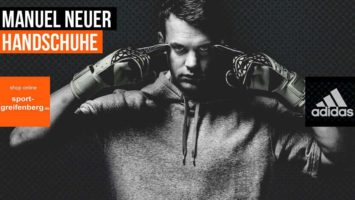 Adidas Torwarthandschuhe von Manuel Neuer im Shop