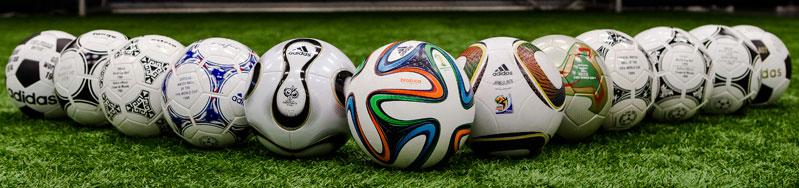 Adidas Brazuca WM 2014 Ball Kollektion mit dem OMB Spielball und weiteren B�llen