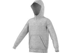 Das Adidas Core 15 Hoody als Kapuzenjacke für Teams und Sportler