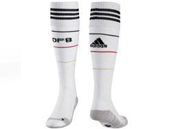 Als Fanartikel die Adidas DFB Home Socks der EM 2012