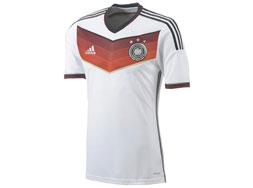 Adidas DFB Authentic Trikot WM 2014 das Ingame Deutschland Trikot