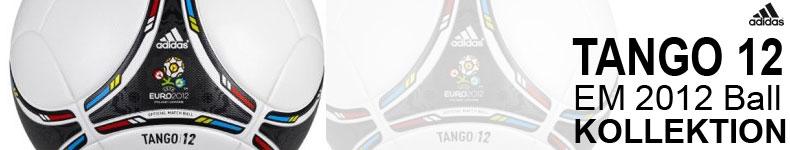 Die Adidas Tango 12 EM 2012 Ball Kollektion mit Spielbällen und Trainingsbällen der Euro 2012