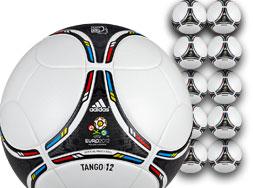 Das Adidas Tango 12 OMB Spielball Ballpaket für Vereine bestellen