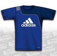 Im Teamsport Shop das Adidas Sereno 11 Logo Trikot bestellen. Sport T-Shirt