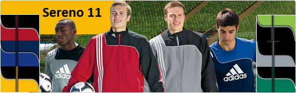 F�r den Teamsport die Adidas Sereno 11 Sportbekleidung und Sportartikel kaufen. Teamsport Linie f�r Mannschaften und Vereine