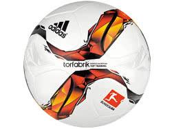 Den Adidas Torfabrik Top Training 2015/2016 Ball als Fu�ball Trainingsball bestellen