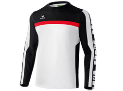Das Erima 5-Cubes Longsleeve Training Sweat als Sport Sweatshirt kaufen