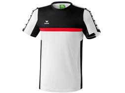 Das Erima 5-Cubes T-Shirt als Sport T-Shirt oder Jersey im Shop kaufen