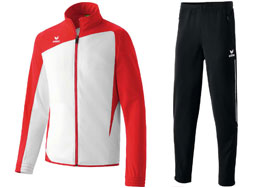 Der Erima Club 1900 Polyesteranzug im Teamsport Look