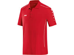 Das Jako Cup Polo als Sport Poloshirt aus Polyestermaterial