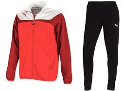 Der Puma Esito 3 Polyesteranzug als Trainingsanzug für den Sport