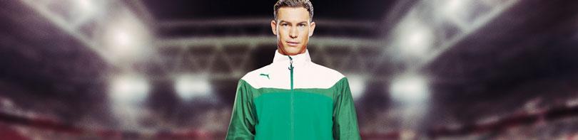 Puma Esito 3 Teamline für Vereine. Traiingsanzüge und T-Shirts im Puma Esito 3 Look