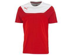 Puma Tee als Baumwolle T-Shirt für die Zeit vor dem Sport