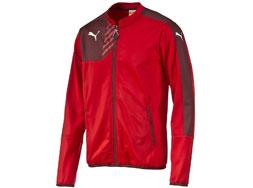Die Puma Mestre Walk Out Jacket als Präsentationsjacke und Freizeitjacke