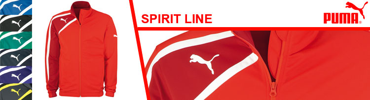 Die Puma Spirit Line Sportbekleidung und Sportaritkel