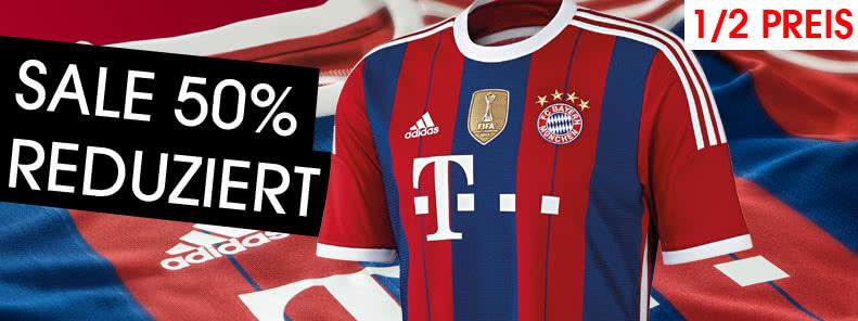 FC Bayern Trikot reduziert
