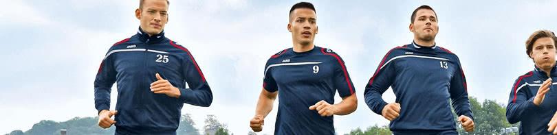Jetzt mit der Jako Performance Sportbekleidung Trainingsanzüge uvw Sportartikel in allen Vereinsfarben bestellen.