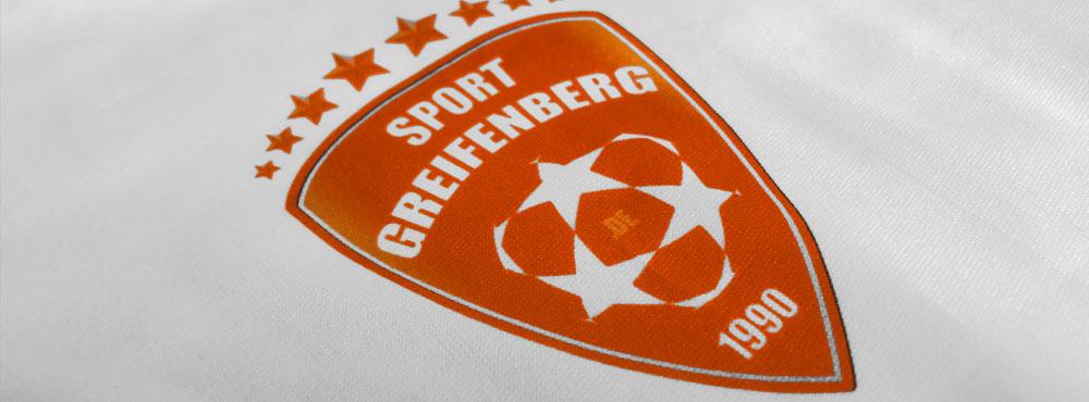 Das Vereinslogo Badge als Druck und Flock für Sportbekleidung