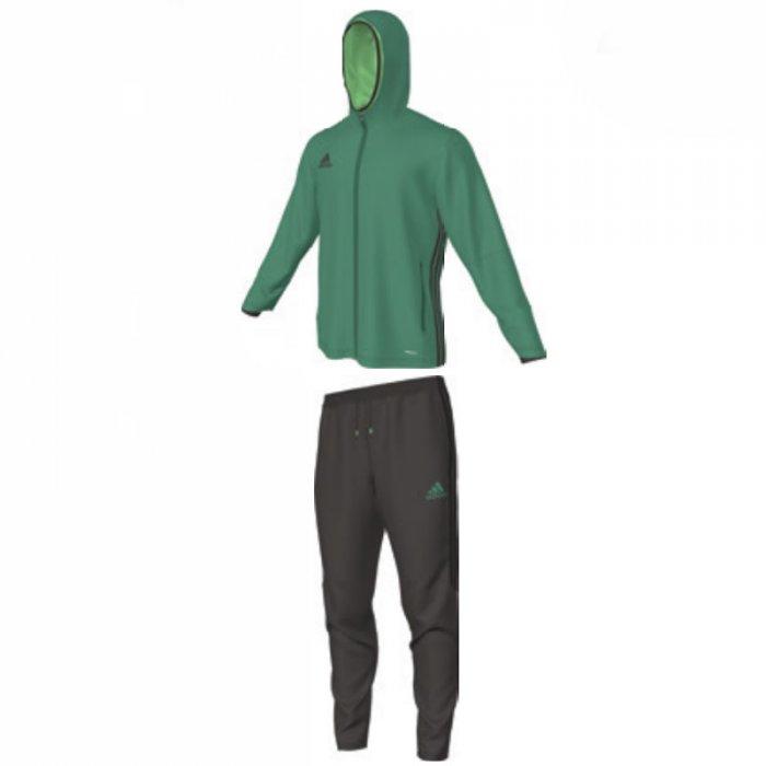 Adidas Condivo 16 Präsentationsanzug bold green / night brown