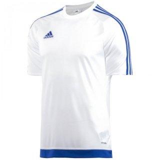 white/bold blue Farbe