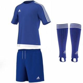 blue/white - blue - blue Farbe