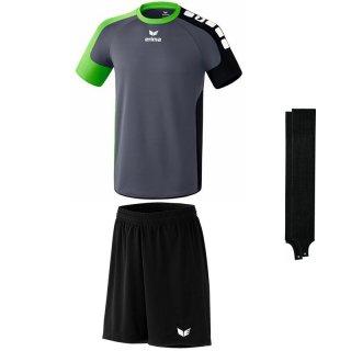 grau/green - schwarz - schwarz Farbe