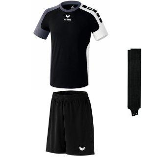 schwarz/grau - schwarz - schwarz Farbe