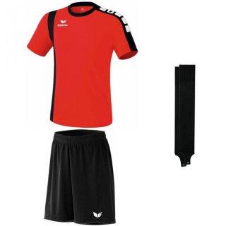 rot - schwarz - schwarz Farbe