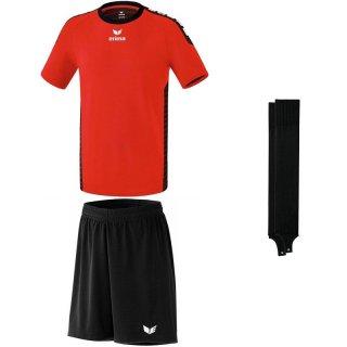 red/black - black - black Farbe