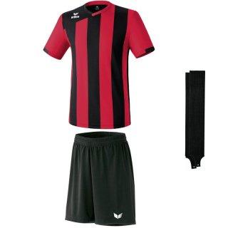 01 rot/schwarz - schwarz - schwarz Farbe