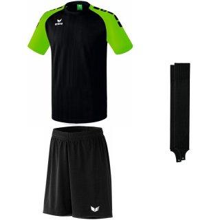 black/green gecko - black - black Farbe